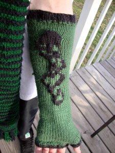Dark Mark Arm Warmer Pattern