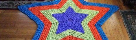 Bulky Star Afghan