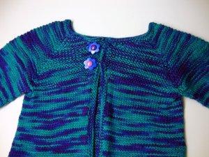 Baby Sock Yarn Sweater Yoke