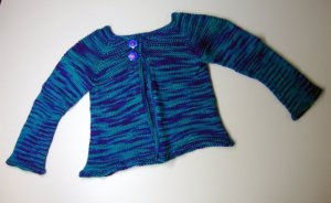 Baby Sock Yarn Sweater