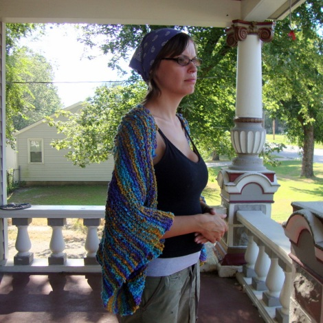Comfy Cotton Shrug with Free Pattern