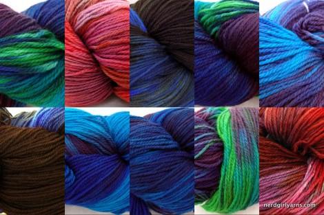 Sneak Peek for Yarns Coming Aug 3 2010