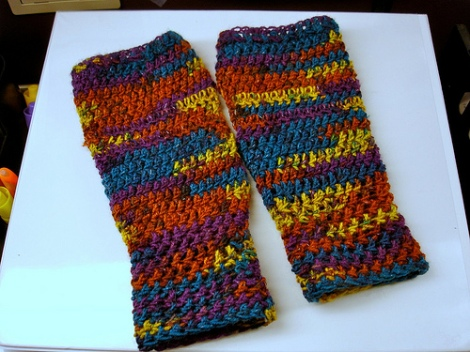 Crochet Mitts
