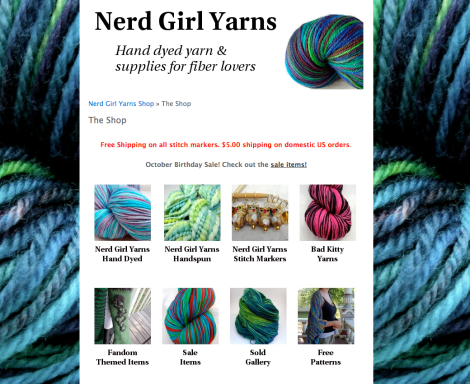 Nerd Girl Yarns Shop