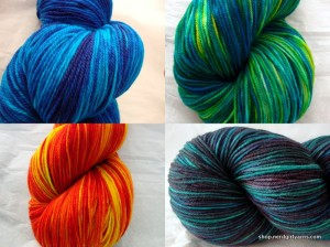 New colorways & new yarns