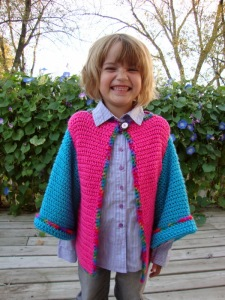 Happy Cardi for Kiddo