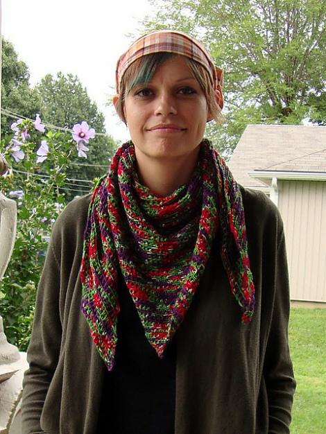Merlin Crochet Neckscarf Free Pattern