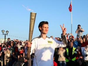 Time Lord Olympic Torch