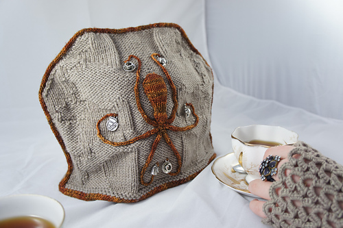 Uniknitter's Tea with Tesla