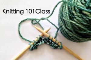 Knitting 101 Class