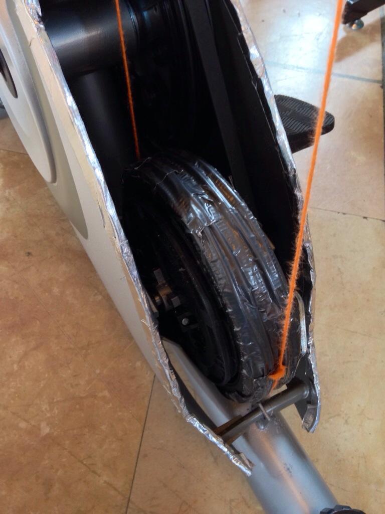 Recumbent Spinning Wheel Hack