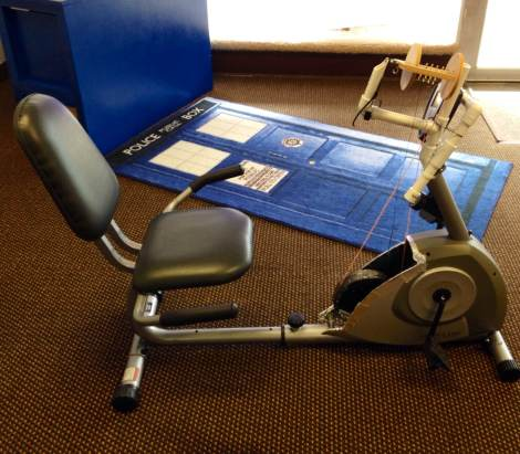 Recumbent Spinning Wheel Hack