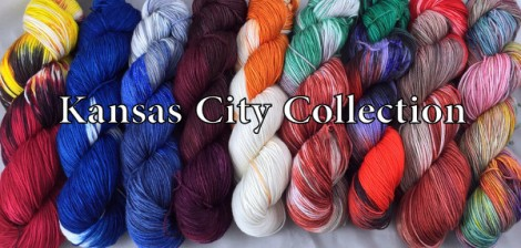 Kansas City Colorway Collection from Nerd Girl Yarns