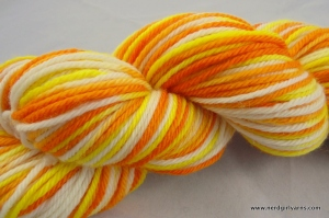 Nerd Girl Yarns Candy Corn