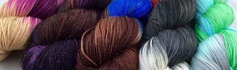 Nerd Girl Yarns 2015 Halloween Limited Edition Colorways
