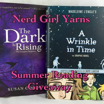 Nerd Girl Yarns Summer Reading Giveaway Books